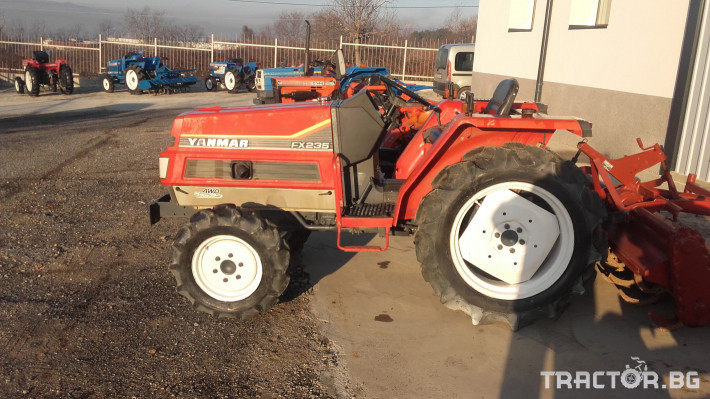 Трактори Yanmar FX235 0 - Трактор БГ