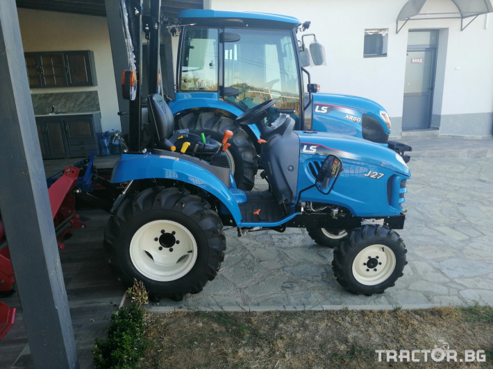 Трактори LS R50 3 - Трактор БГ